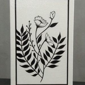 Preto & Branco Flores I