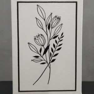 Preto & Branco Flores II