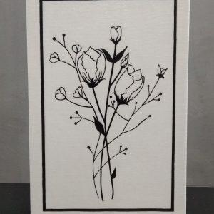 Preto & Branco Flores III